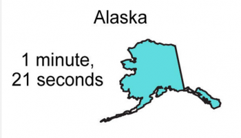 How long does sex last in Alaska