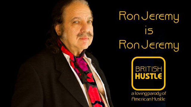 Ron Jeremy up for Best Whactor in British Hustle