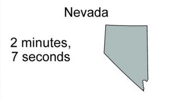 How long does sex last in Nevada