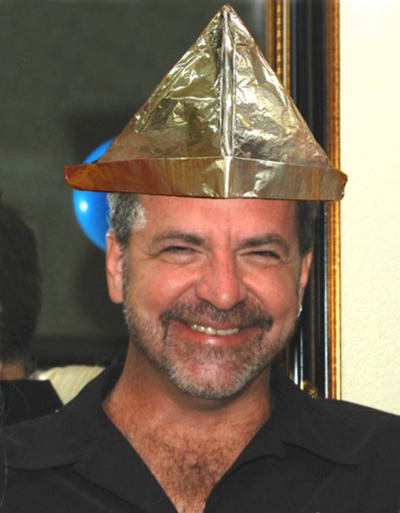 Mike South in his Tinfoil Hat