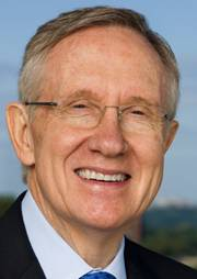 Senator Harry Reid, Nevada's top Democrat