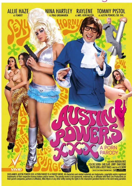 Austin Powers XXX cover art