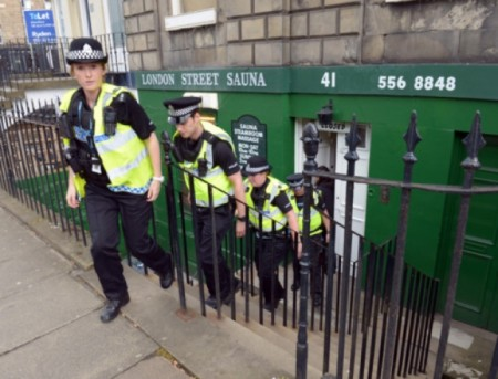 Edinburgh sauna license change could backfire after police raids