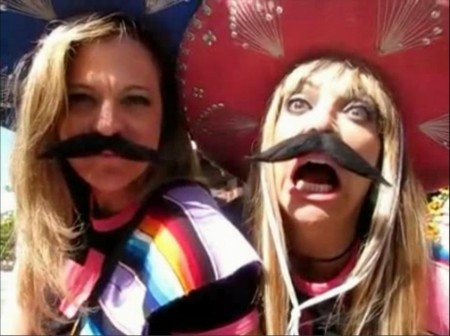 Banditas: Melanie Davis Dzierba and Shelley Lubben