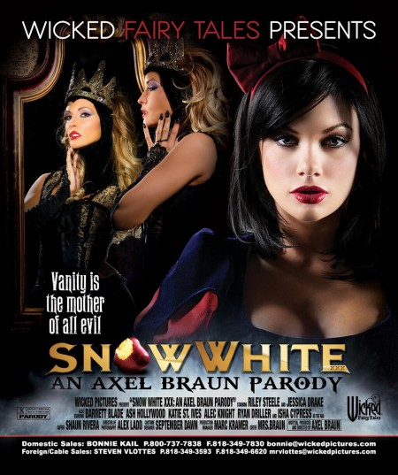 Snow White XXX: Axel Braun Parody for Wicked Fairy Tales