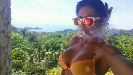 Madison Ivy enjoying Costa Rica