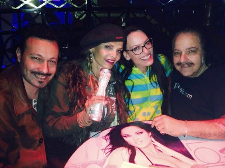 Michael Whiteacre, Erica McLean, Sam Phillips and Ron Jeremy