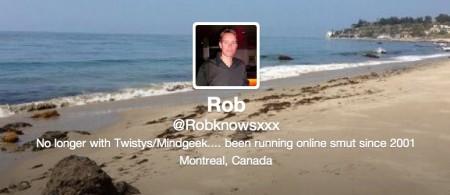 New Rob twitter