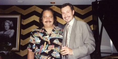 Ron Jeremy at the author's birthday party, September 2001