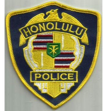 USA_-_HAWAÏ_-Honolulu_police