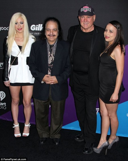 Ron  Jeremy, Dennis Hof and their brothel worker companions