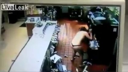 Florida woman goes on topless rampage at McDonald's