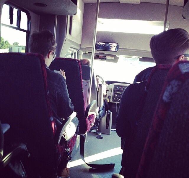 The Kink.com bus to Sacramento