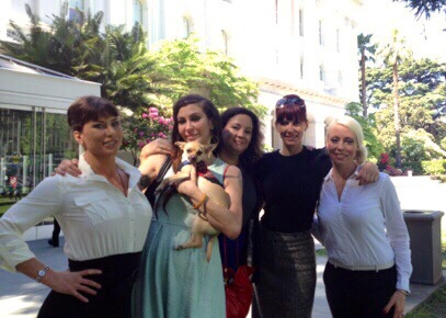 Ariel X, Princess Donna, attorney Karen Tynan, Maitresse Madeline and Lorelei Lee