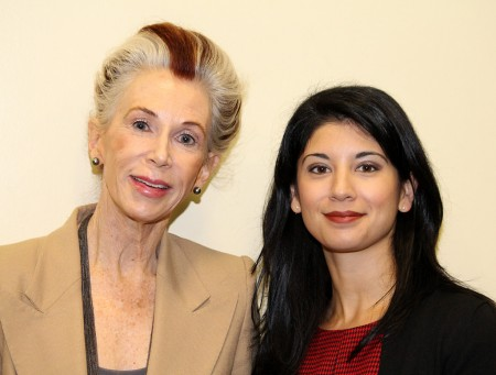 Catharine MacKinnon and Professor Mary Anne Franks. (Photo: Catharine Skipp/Miami Law)