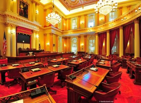 California State Senate Chamber, Sacramento (Photo: KenRockwell.com)