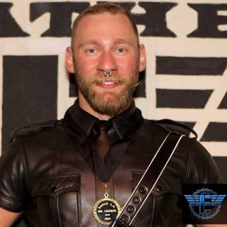 Eric Paul Leue, Mr L.A. Leather 2014, Slams AHF's Michael Weinstein