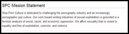 Stop Porn Culture mission statement