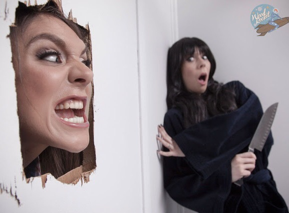 WoodRocket.com Presents Photo-Parody Of 'The Shining'