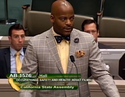 AB 1576 In The Calif. Assembly Appropriations Committee - Assemblymember Isadore Hall (D-AHF)