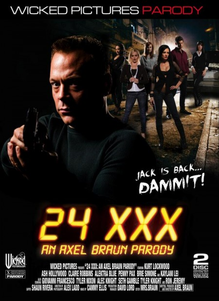 DVD cover for 24 XXX
