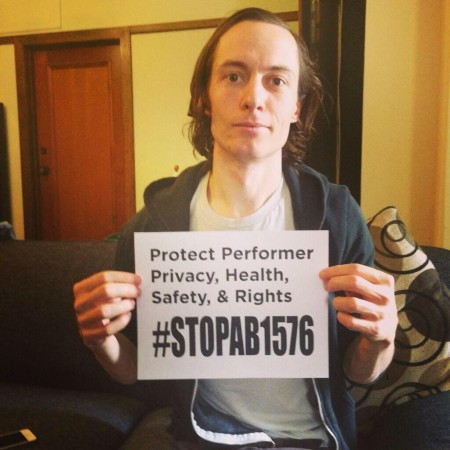 Owen Gray - Adult Models, Directors and Crew Do NOT Want AHF's Mandatory Condom Bill - #stopAB1576