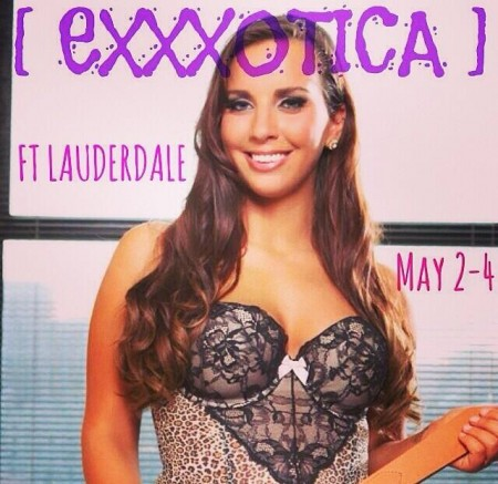 Sydney Leathers appearing at Exxxotica South Florida in Ft Lauderdale