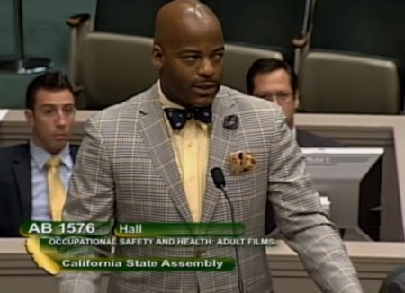 AB 1576 sponsor Isadore Hall (D-AHF)