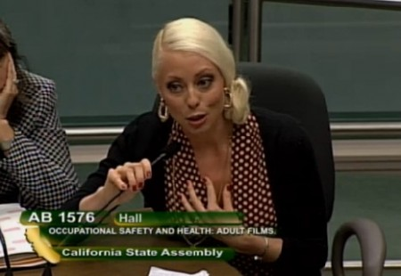 Lorelei Lee - AB 1576 In The Calif. Assembly Appropriations Committee