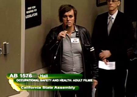 Emma Claire speaks out against AB 1576