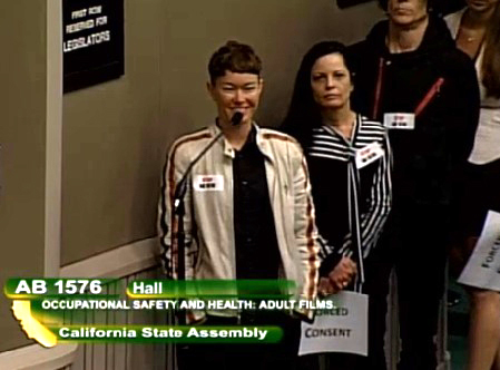 Jiz Lee speaks in opposition to AB 1576