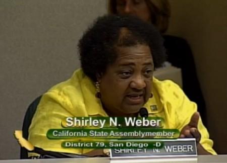 Assemblymember Shirley Weber