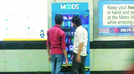 Delhi Metro Rail station gets its first condom vending machine