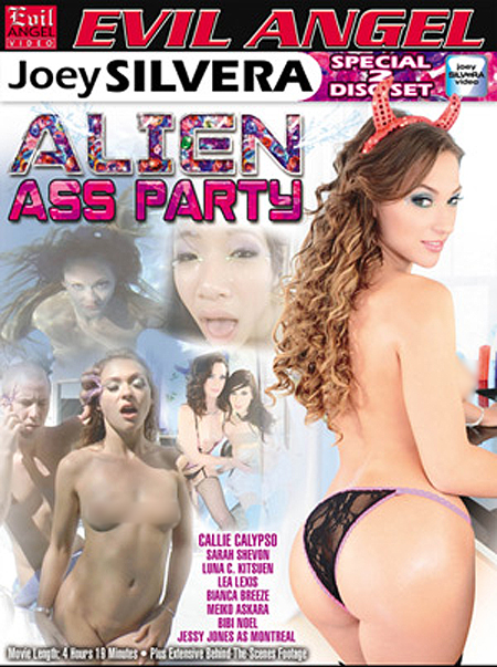 Joey Silvera's 'Alien Ass Party' Invading Earth!