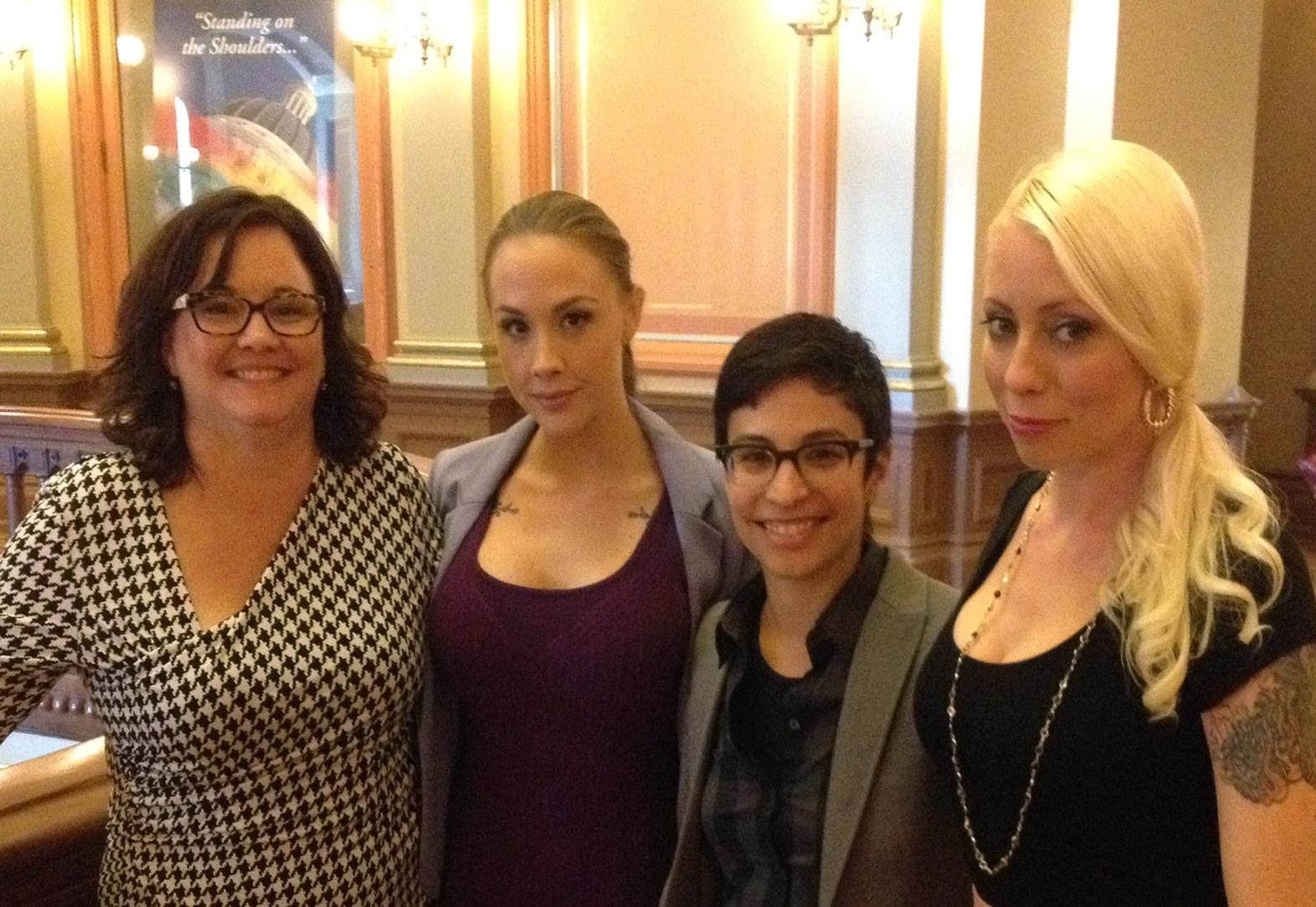 Adult Performers Lobby State Senators To #stopAB1576