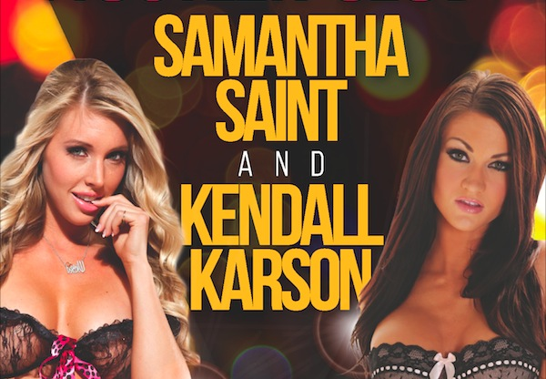 Hustler Club Las Vegas presents Samantha Saint and Kendall Karson