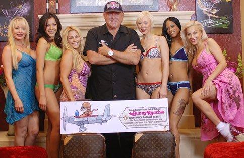Bunny Ranch owner Dennis Hof & Girls