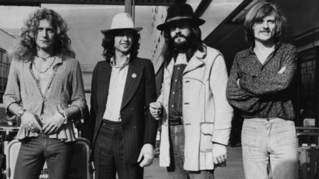 Led Zeppelin in 1973 (Evening Standard/Getty Images)