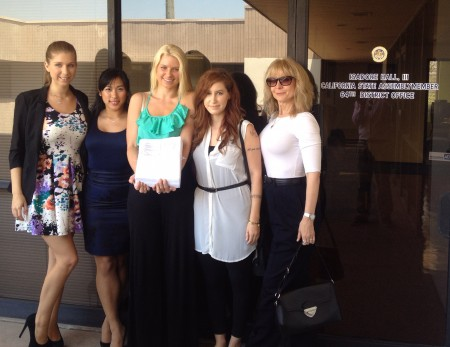 Adult Performers Drop by Isadore Hall's Office to Seek Withdrawal of AB 1576