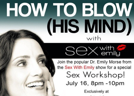 Sex Workshop with Host of 'Sex with Emily' At the HUSTLER HOLLYWOOD Sunset Store