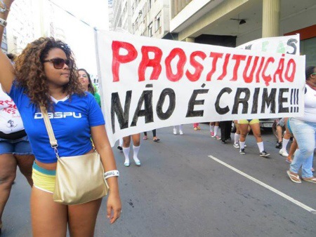 Sex Workers Stage Protests Against Police Crackdowns at the World Cup