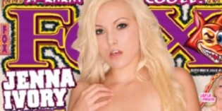 Jenna Ivory Graces the Cover of Fox Magazine