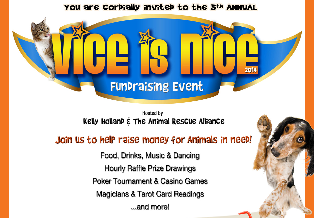Party With Adult Stars at the 5th Annual 'Vice Is Nice' Animal Rescue Fundraising Event, July 26