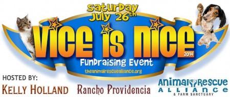 Party With Adult Stars and Celebrities as 'Vice Is Nice' Throws its 5th Animal Rescue Fundraising Event