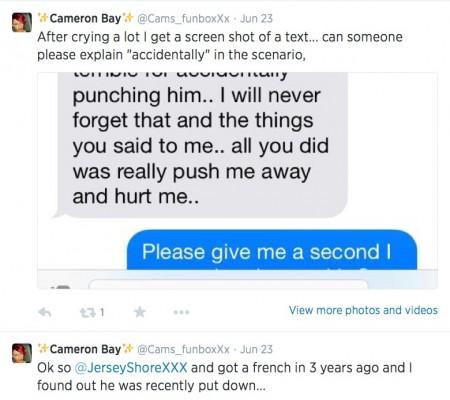 Cam tweets