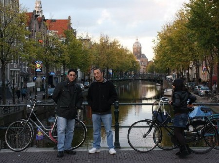 Christian and John Stagliano - Amsterdam, 2010