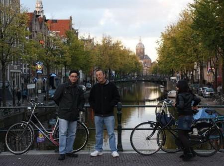 Christian and John - Amsterdam 2010