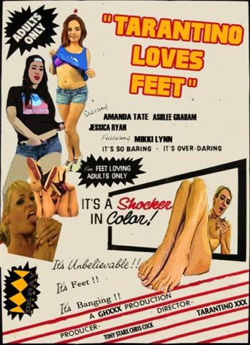 Tarantino Loves Feet Box Cover_censored