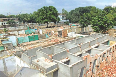 No shelter for 600 sex workers of Tangail; demolition of brothel on as locals claim the land