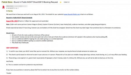 2013-08-07 Booking request for 08-09